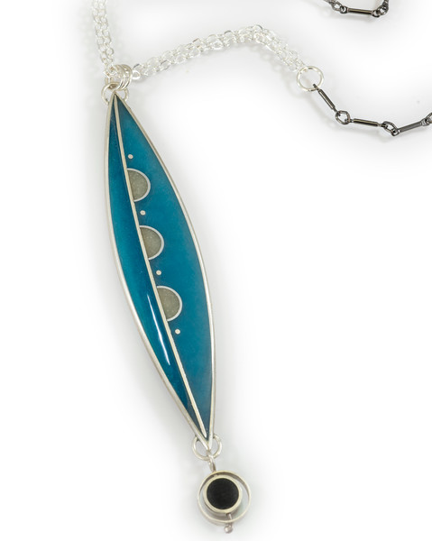 """#6 """"New Canoe Necklace"""" - Chain is 26"""" to 29"""" - $320. Call Smith Galleries to order at 800.272.3870 between 10 am and 5 pm, Monday through Saturday."""