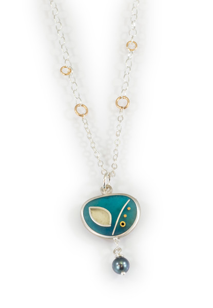 """#9 """"CNM  Necklace - Chain is 16"""" to 18"""" - $180. Call Smith Galleries to order at 800.272.3870 between 10 am and 5 pm, Monday through Saturday."""