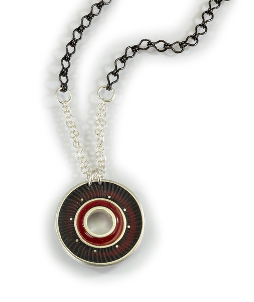 """11 """"Carved Robin Necklace - Chain is 24"""" to 26"""" - $180. Call Smith Galleries to order at 800.272.3870 between 10 am and 5 pm, Monday through Saturday."""