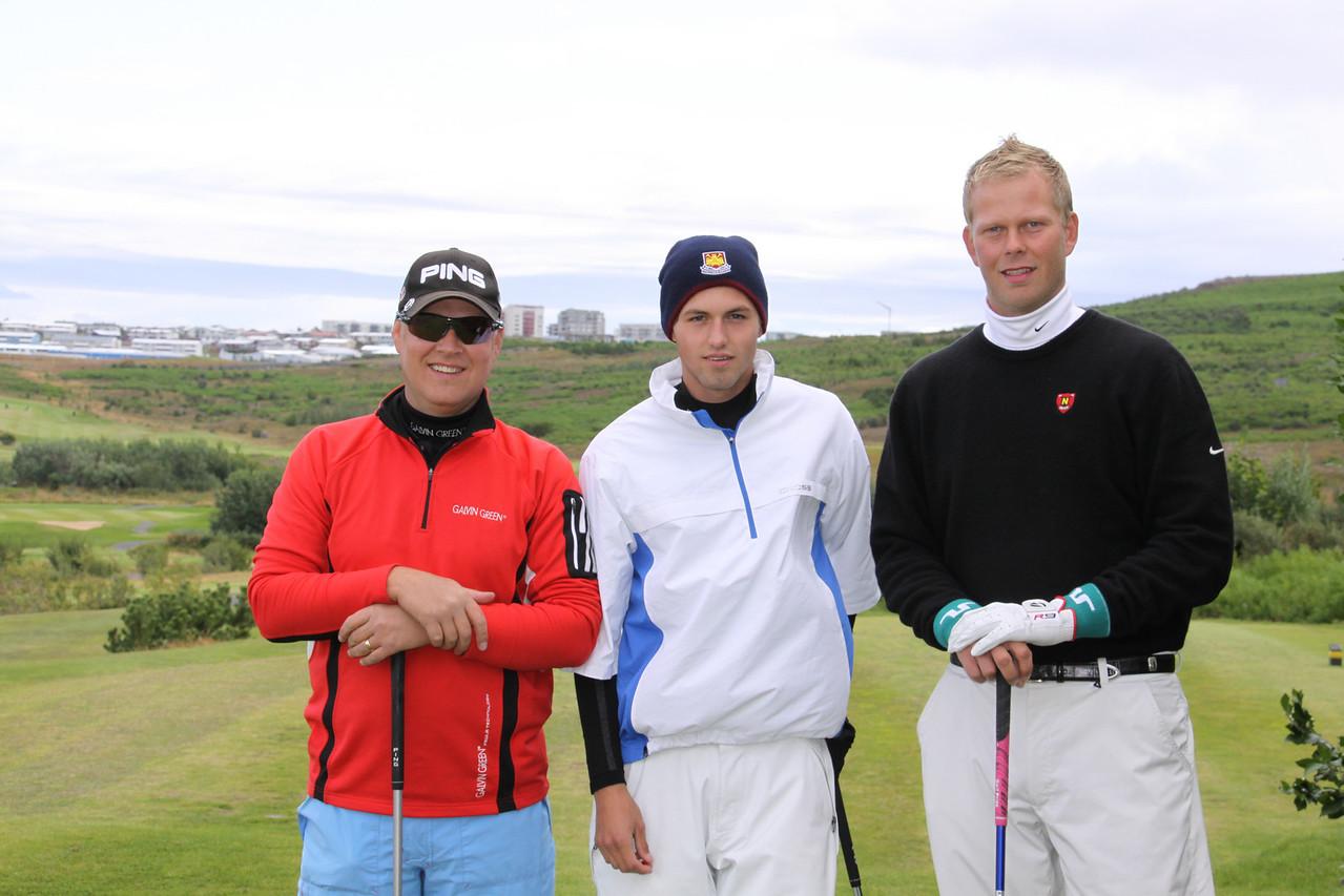 Nökkvi Gunnarsson, Andri Þór Björnsson, Ólafur Hreinn Jóhannesson,