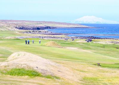 Hólmsvöllur Leira, Snæfellsjökull. seth@golf.is