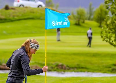 Andrea Ásmundsdóttir, GA. Símamótið, Hamarsvöllur.  Mynd/seth@golf.is