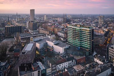 Zonsopkomst Centrum Eindhoven