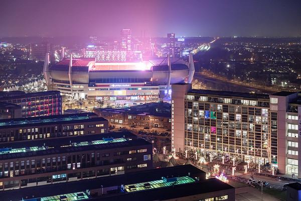 Phillips Stadion, tijdens GLOW Eindhoven