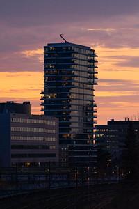Zonsondergang Hartje New York, Eindhoven
