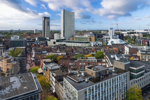 The skyline of Eindhoven