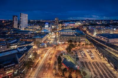 De skyline van Eindhoven