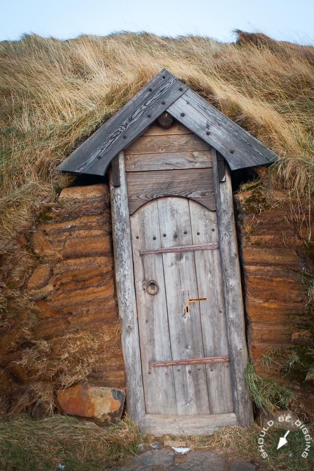 Leaning Doorway