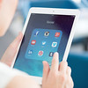 Social media apps on Apple iPad