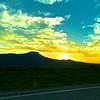 I had just finished up trackchasing in Idaho. I drove along Yellowstone National Park on my way to Ekalaka, Montana.