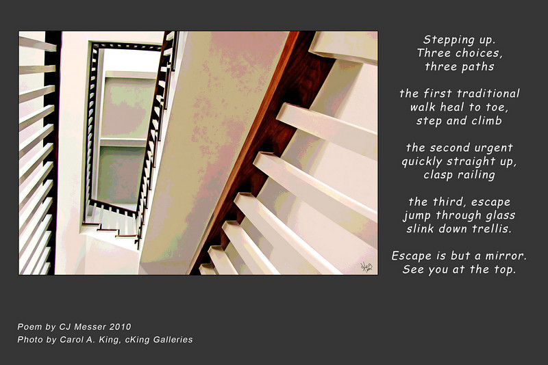 "Photo without poem available at:<br />  <a href=""http://ckinggalleries.smugmug.com/Architectonics/Interior-Structure/12346946_RXvYg#882097055_qh52z"">http://ckinggalleries.smugmug.com/Architectonics/Interior-Structure/12346946_RXvYg#882097055_qh52z</a>"