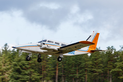 SE-GBL takeoff