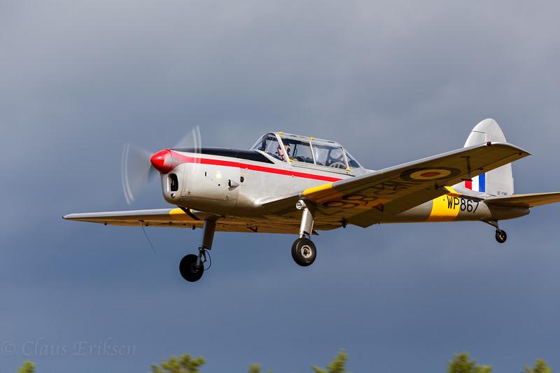 SE-FNP takeoff for show