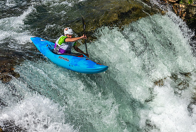 Nicolas Caussanel, France, Winner of European Championship Whitewater Kayak