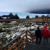 The ramp to the northern side of the Perito Moreno glacier, Patagonia, Argentina