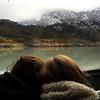 Inside the boat going to Perito Moreno glacier, Patagonia, Argentina