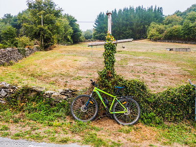 My Bike taking a rest