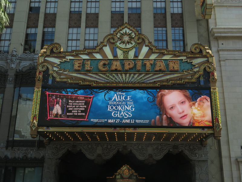Delightful tea party plus movie props and costumes for ALICE at the El Capitan Theatre