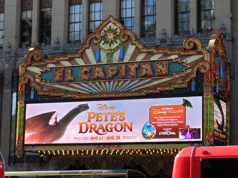 "PETE'S DRAGON at El Capitan brings high-flying film plus historic look at ""Dragons of Disney"""
