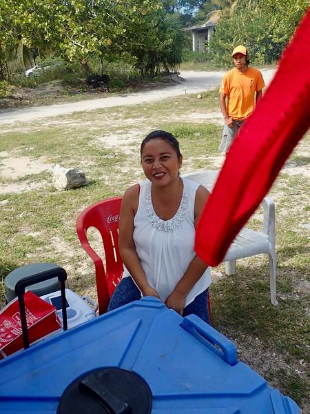One of Letis helpers