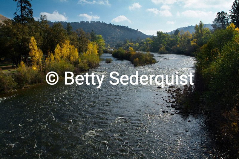 South Fork American River, autumn, Coloma, California