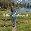 Hikers at Frog Lake, Carson Pass