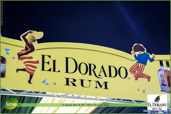 El Dorado Rum @ CPL TKR vs St.Lucia Stars