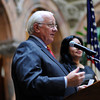 Opening ceremony for Hispanic Heritage Month at Rochester City Hall.
