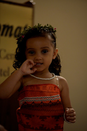 Amaiya Martinez dressed as Disney's Moana. <br /> <br /> Girls in age ranging from 2-7 competed in in the Nuestra Belleza Infantil de Rochester pageant July 15 at the Diplomat Party House. The girls performed in front of a panel of judges in the pageant that used to be an annual event in decades past.
