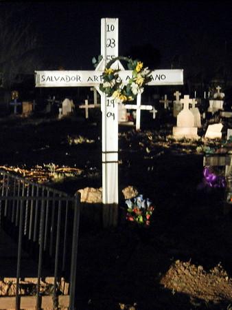 Socorro Mission Cemetery, Dec 18, 2010