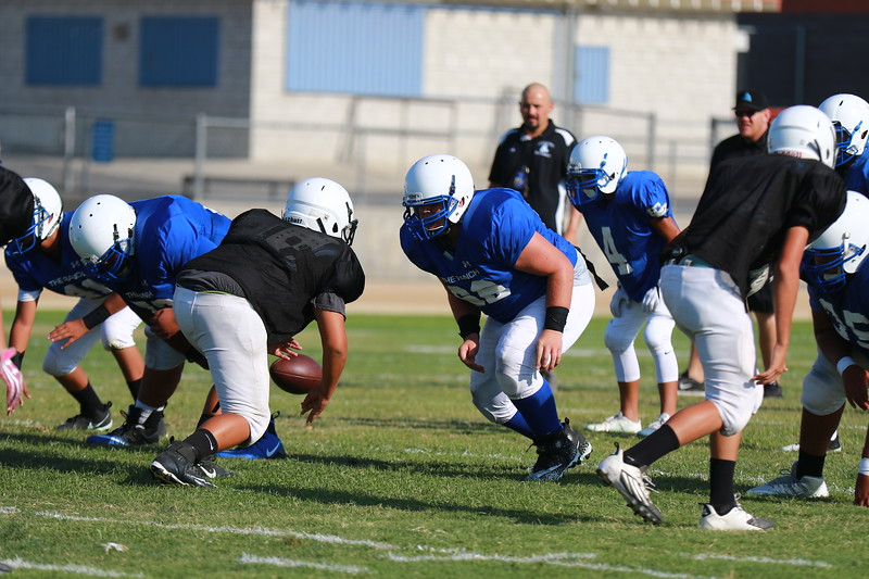 2017 El Rancho vs Arroyo Scrimmages