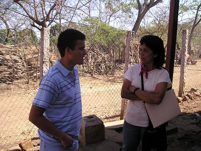 Andres Elias Palacios, Milagro del Carmen Rodriguez