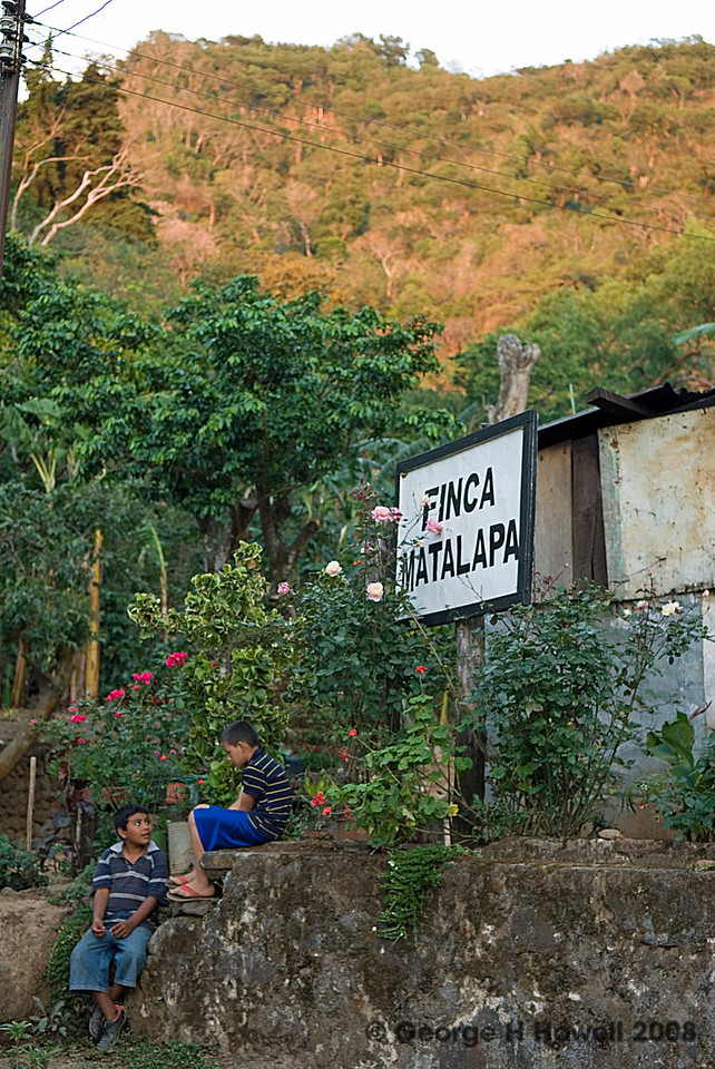 The entrance to Matalapa.....
