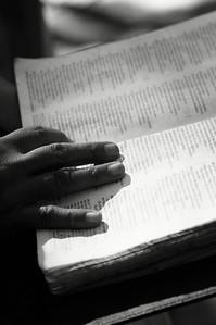 Ricarda Villanueva's Bible.