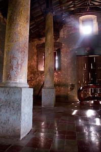The interior of the chapel of Santa Imelda Convent, now the Centro Arte para la Paz.  Suchitoto, Cuscatlán, El Salvador, 2008