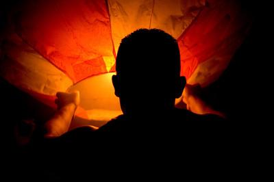 Se lanza el primer globo  El Salvador, 2009