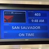 San Salvador, El Salvator is the trip's destination.