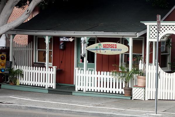 George's Barber Shop, El Segundo