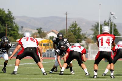 El Dorado vs Ayala at Glen Hastings Field in Placentia, California on August 29, 2013.