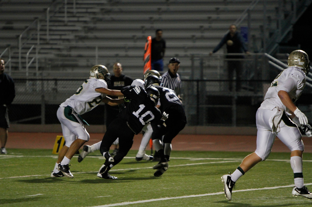 El Dorado vs Brea Olinda  at Bradford Stadium in Placentia, California on November 1, 2013. Photo:Chris Anderson/114photography