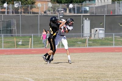 El Dorado vs Foothill JV at Foothill High School in Santa Ana, California on October 17, 2013. Photo:Chris Anderson/114photography