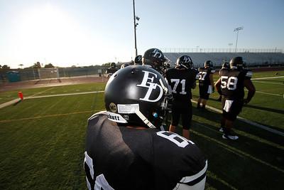 El Dorado vs Fullerton at Bradford Stadium in Placentia, California on September 12, 2013. Photo:Chris Anderson/114photography