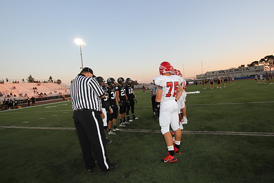 El Dorado vs Fullerton at Bradford Stadium in Placentia, California on September 12, 2013. Photo:Chris Anderson/114photography