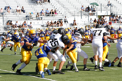 El Dorado vs Valencia JV at Bradford Stadium in Placentia, California on September 19, 2013. Photo:Chris Anderson/114photography