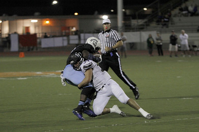El Dorado vs Villa Park Varsity at Fred Kelly Stadium in Orange, California on October 12, 2013. Photo:Chris Anderson/114photography