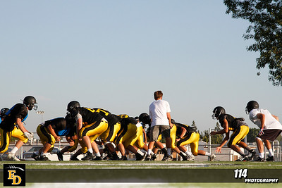 El Dorado Summer Practice at Glen Hastings Field/El Dorado High School in Placentia, California on August 20, 2013. Chris Anderson/114Photography