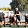Win Today! El Dorado Golden Hawk Football program finishing up a day of hard work at Glen Hastings Field/El Dorado High School in Placentia, California on August  6, 2013.