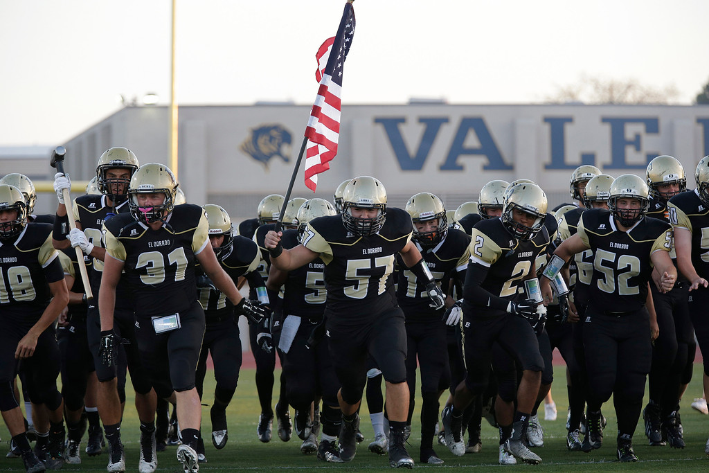 El Dorado vs Ayala at Bradford Stadium in Placentia, California on September 4, 2014. Photo:Chris Anderson/114photography