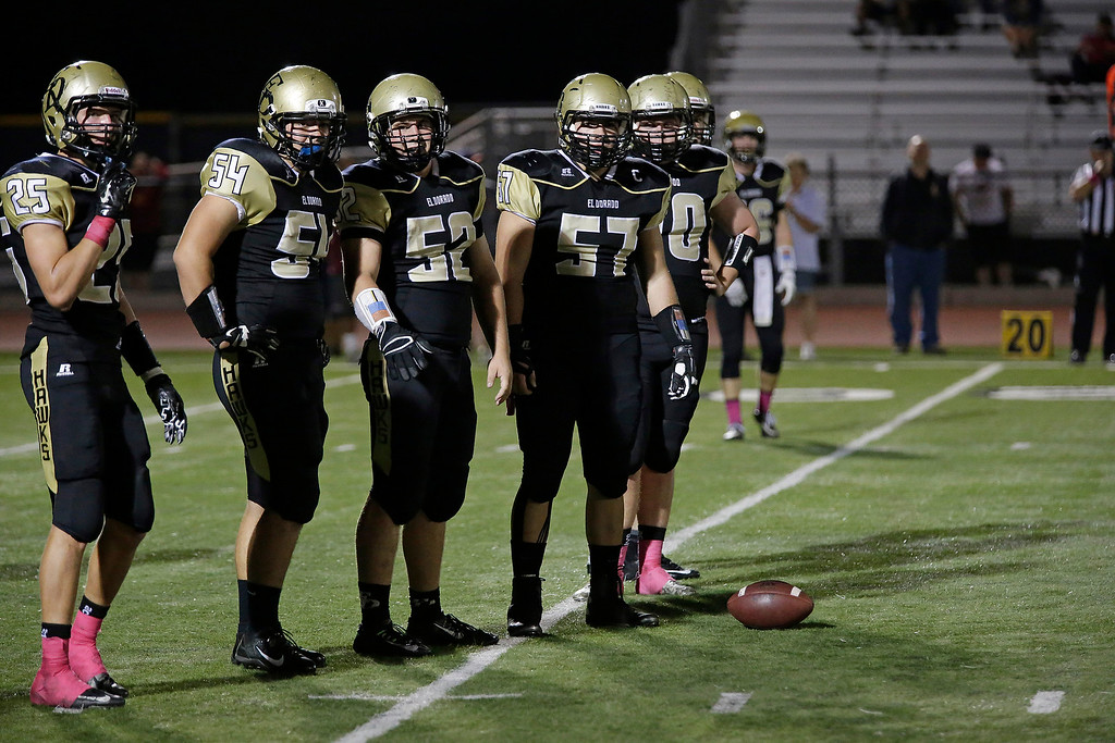El Dorado vs Esperanza at Bradford Stadium in Placentia, California on October 17, 2014. Photo:Chris Anderson/114photography