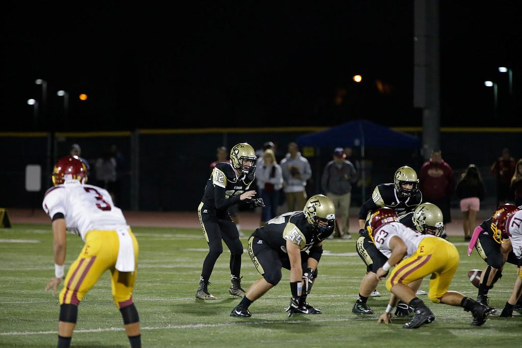 El Dorado vs Esperanza at Bradford Stadium in Placentia, California on October 17, 2014. Photo:Chris Anderson/114photography